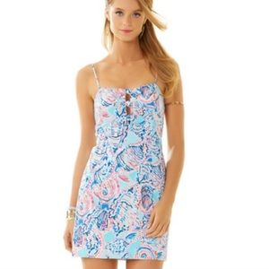 Lilly Pulitzer Petra Dress Shell Me About It - 4